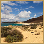 Beach at La Graciosa